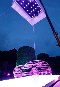 Range Rover Evoque Debut