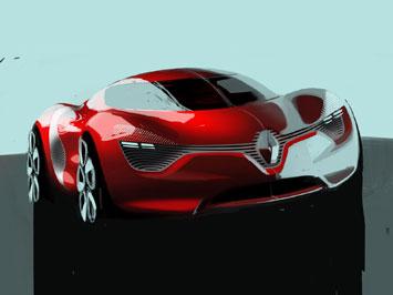 2014  Sketches on Renault Dezir Concept Design Sketch 2 Jpg