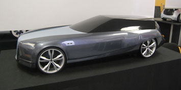 Wally Concept Car Scale Model