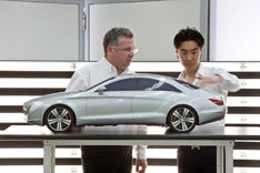 Mercedes-Benz CLS Design Scale Model