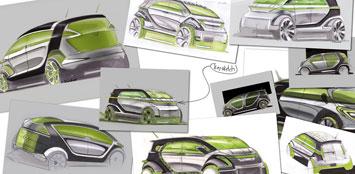 smart bus concept car body design. Black Bedroom Furniture Sets. Home Design Ideas
