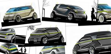 smartclub smart bus concept. Black Bedroom Furniture Sets. Home Design Ideas