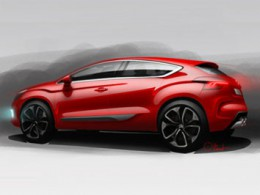 Citroen DS4 Design Sketch