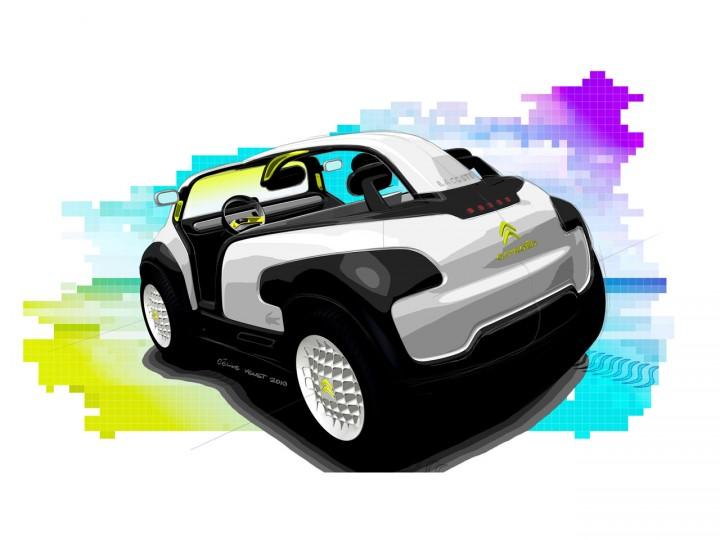 Citron Lacoste Concept Car Body Design
