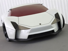 Lamborghini Indomable Clay Model