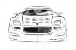 Lancia Stratos Design Sketch