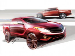 Mazda BT 50 Design Sketch