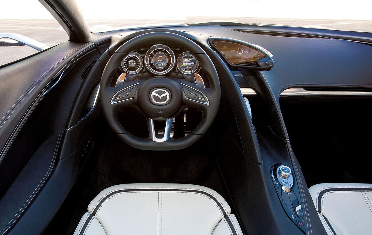 Mazda shinari concept car body design for Interieur concepts