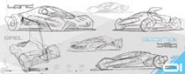 Opel Icona Concept Design Sketch