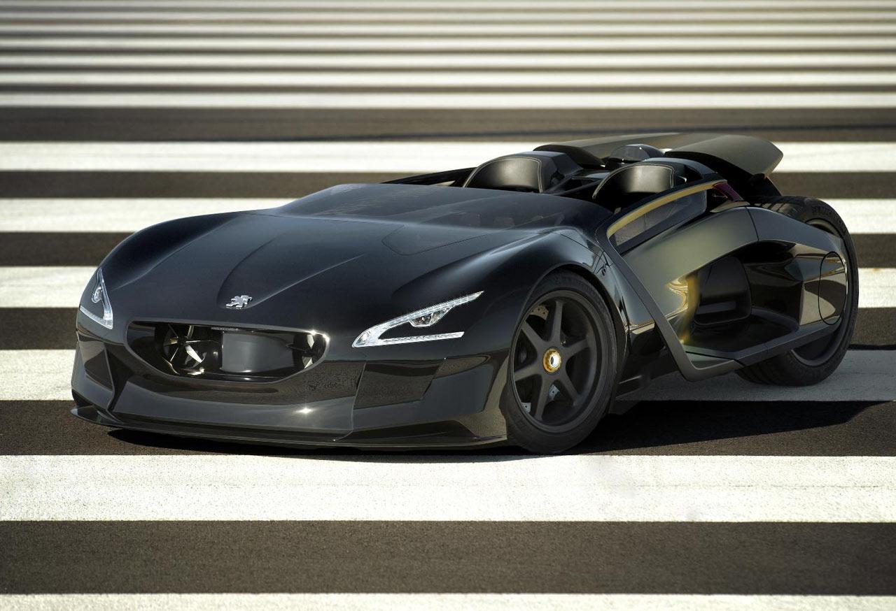 peugeot ex1 concept car body design. Black Bedroom Furniture Sets. Home Design Ideas