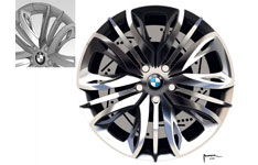 BMW 6 Series Coupe Concept - Wheel Design Sketch