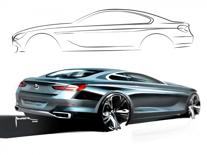 BMW 6 Series Coupé Concept: design gallery