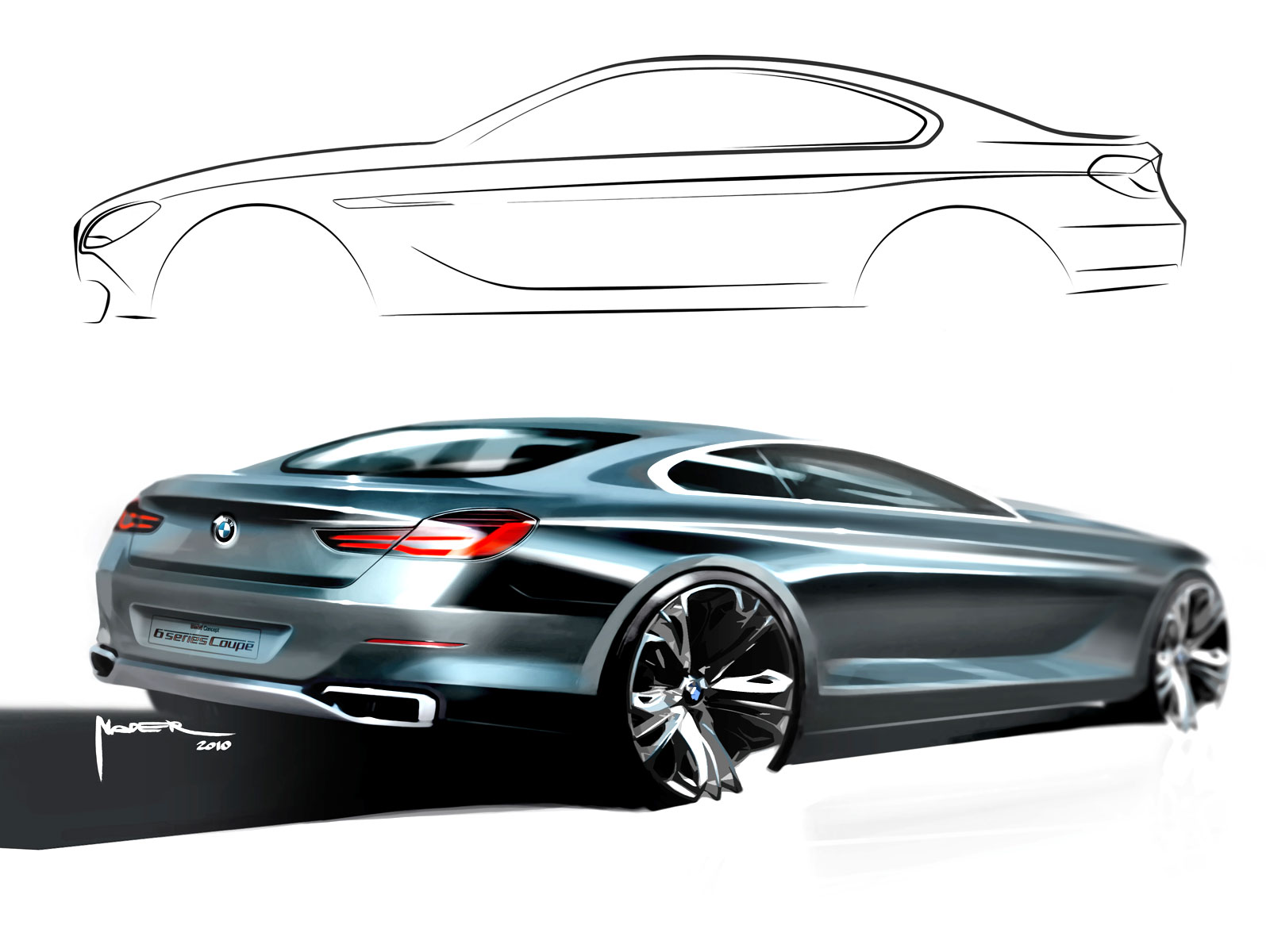 Bmw 6 Series Coup 233 Concept Design Gallery