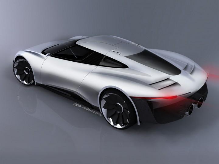 Jaguar C-X75 Concept - Car Design
