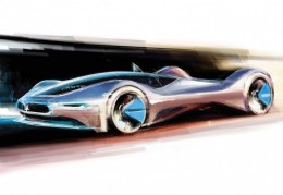 Pininfarina Birdcage 75th Concept Design Sketch