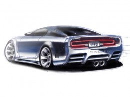 Saleen S281 Mustang - Design Sketch