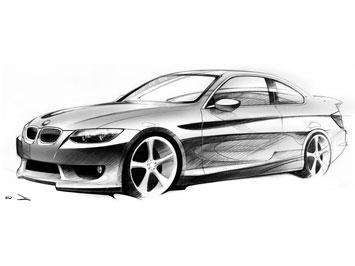Hyundai  Design Sketch on Traditional Car Sketching Tutorial Car Body Design