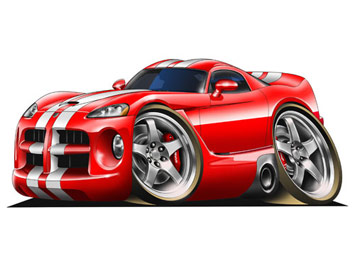 Cartoon cars starting from photographs using corel draw and photoshop