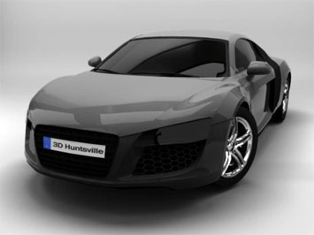 Audi R8 3ds Max Tutorial Car Body Design