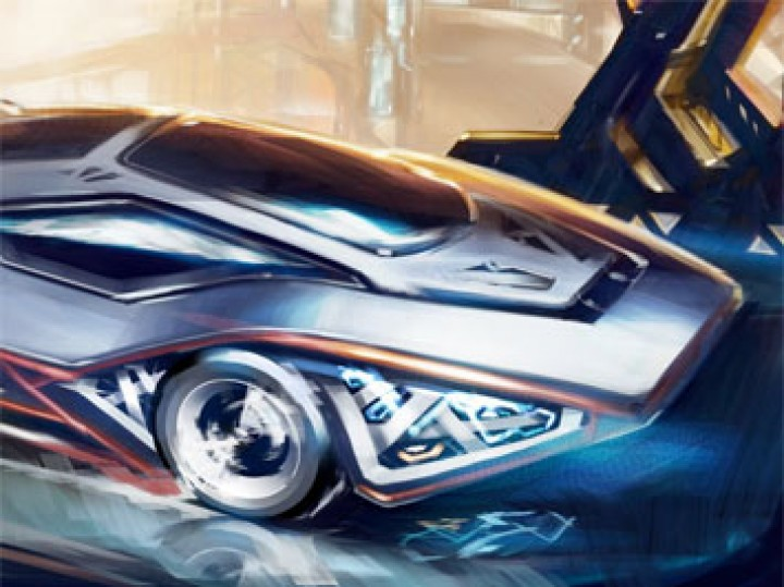 Car Digital Painting Tutorial – The Bridge (Transfuturism III)