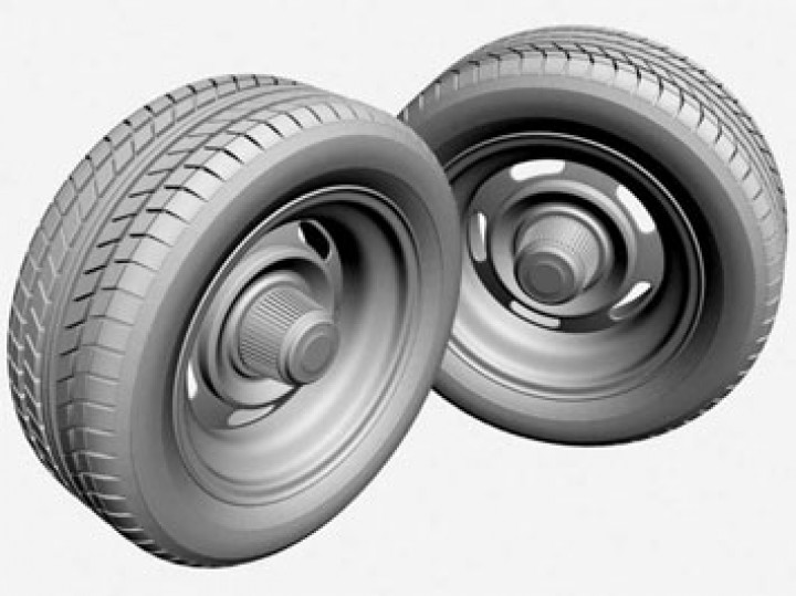 Creating Tire Tread – Part II