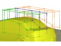 CAE frame work for aerodynamic design development of automotive vehicles