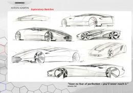 Aston Martin Viceroy Concept Design Sketch X