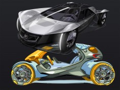 Cadillac and Smart win the 2010 LA Design Challenge