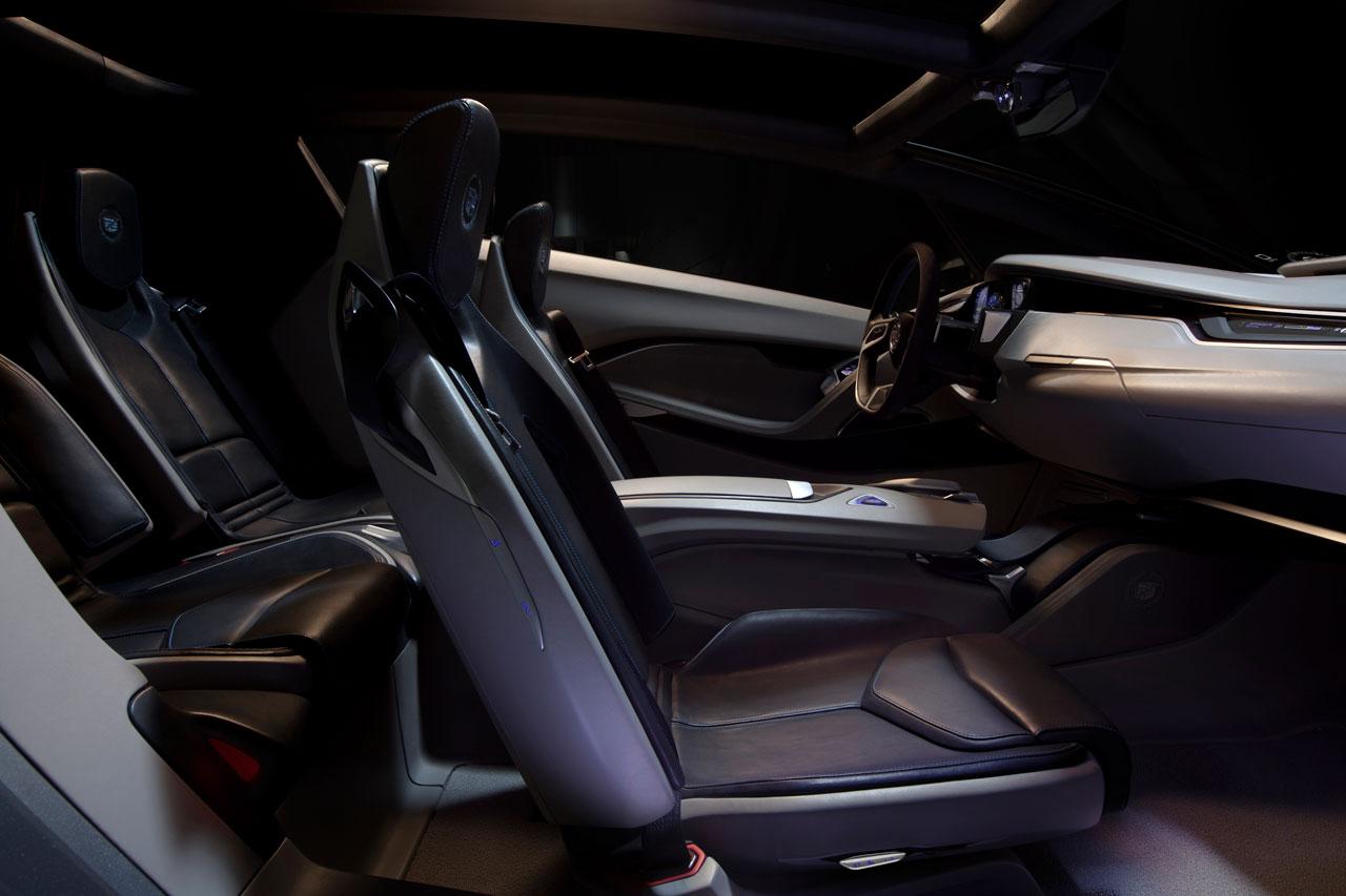 Cadillac Urban Luxury Concept Interior Car Body Design