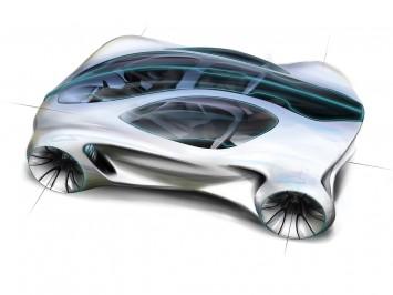 mercedes benz biome concept car body design