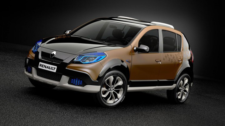 renault sandero stepway concept car body design. Black Bedroom Furniture Sets. Home Design Ideas