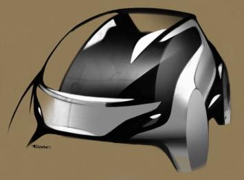 Fiat Mio FCC III Concept Design Sketch