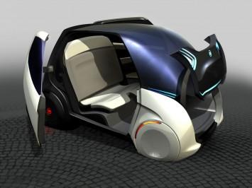 Fiat Mio FCC III Concept Rendering