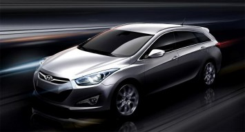 Hyundai i40 CW Design Sketch