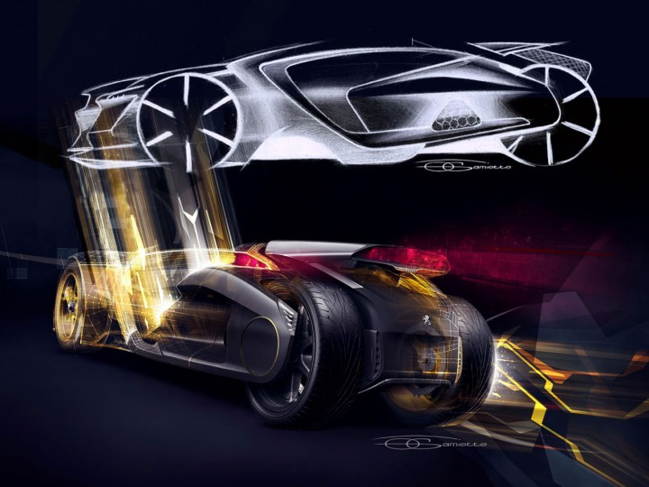 Peugeot Ex1 Concept Design Gallery Page 5 Car Body Design
