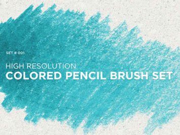 Colored Pencil Brush Set