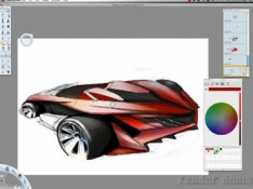 Digital-Painting-Car-Rendering-Tutorial
