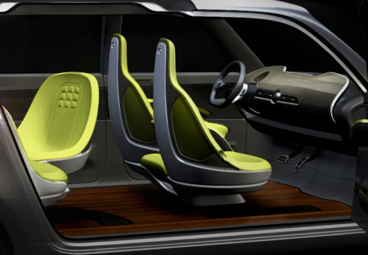 kia kv7 concept preview car body design. Black Bedroom Furniture Sets. Home Design Ideas