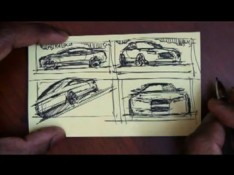 post-it-car-sketches-2