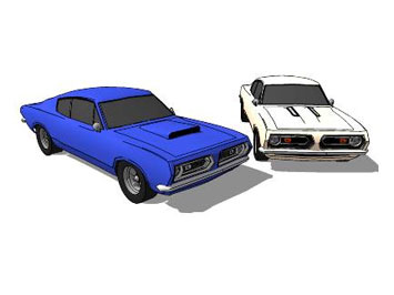 1968 Plymouth Barracuda models