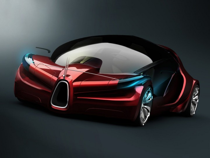 Avions Am 233 Lie A25 Concept Car Body Design