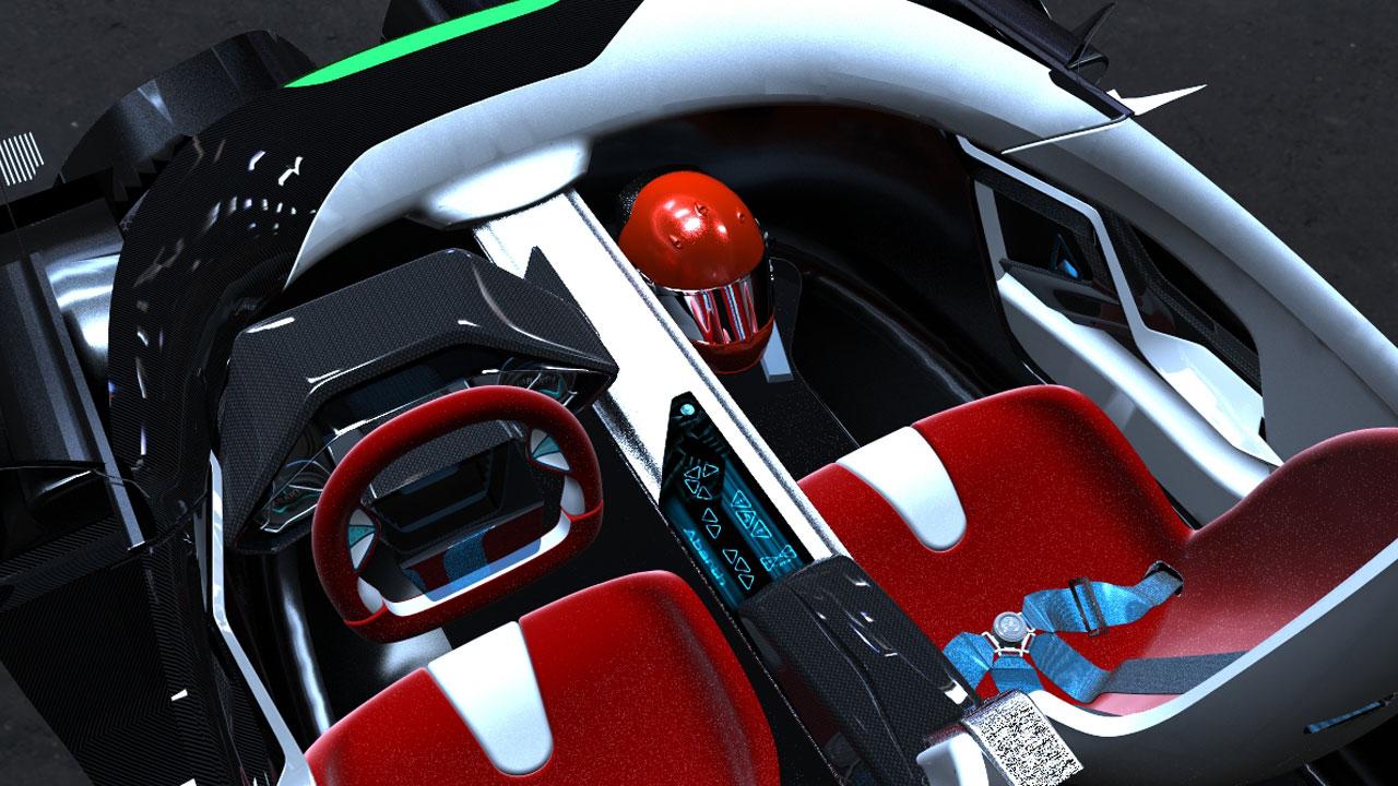 Abarth scorp ion concept autoforum for Ied interior design