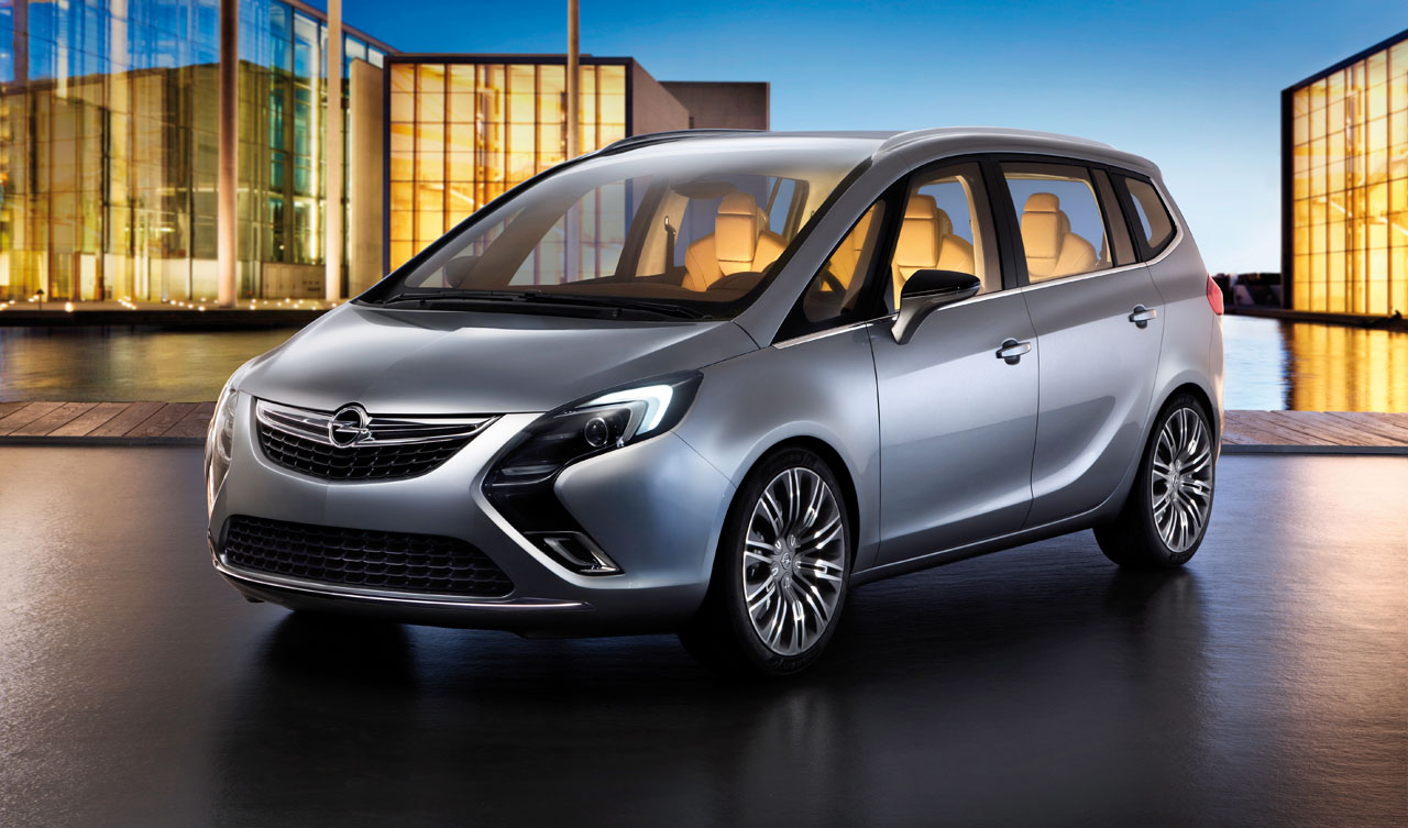 opel zafira tourer concept car body design. Black Bedroom Furniture Sets. Home Design Ideas