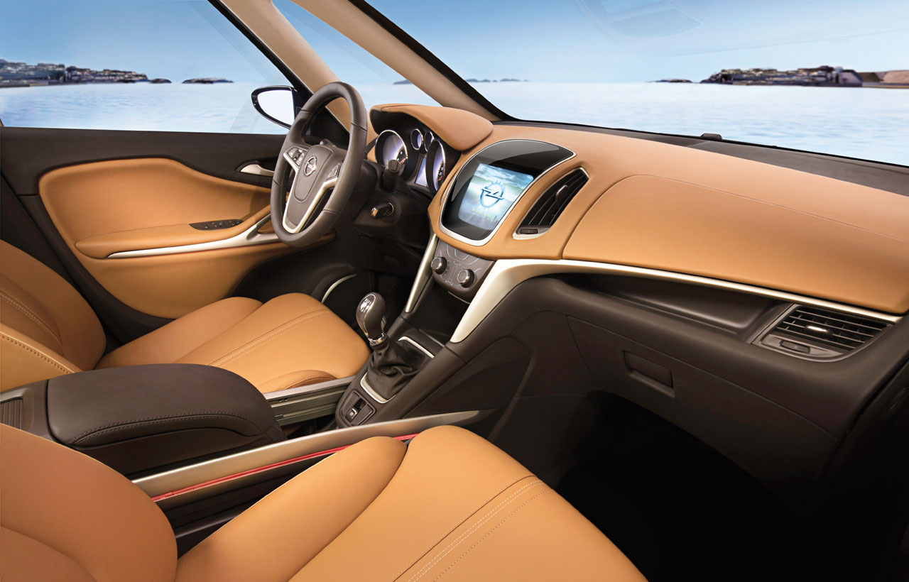 Opel zafira tourer concept car body design for Opel zafira interieur