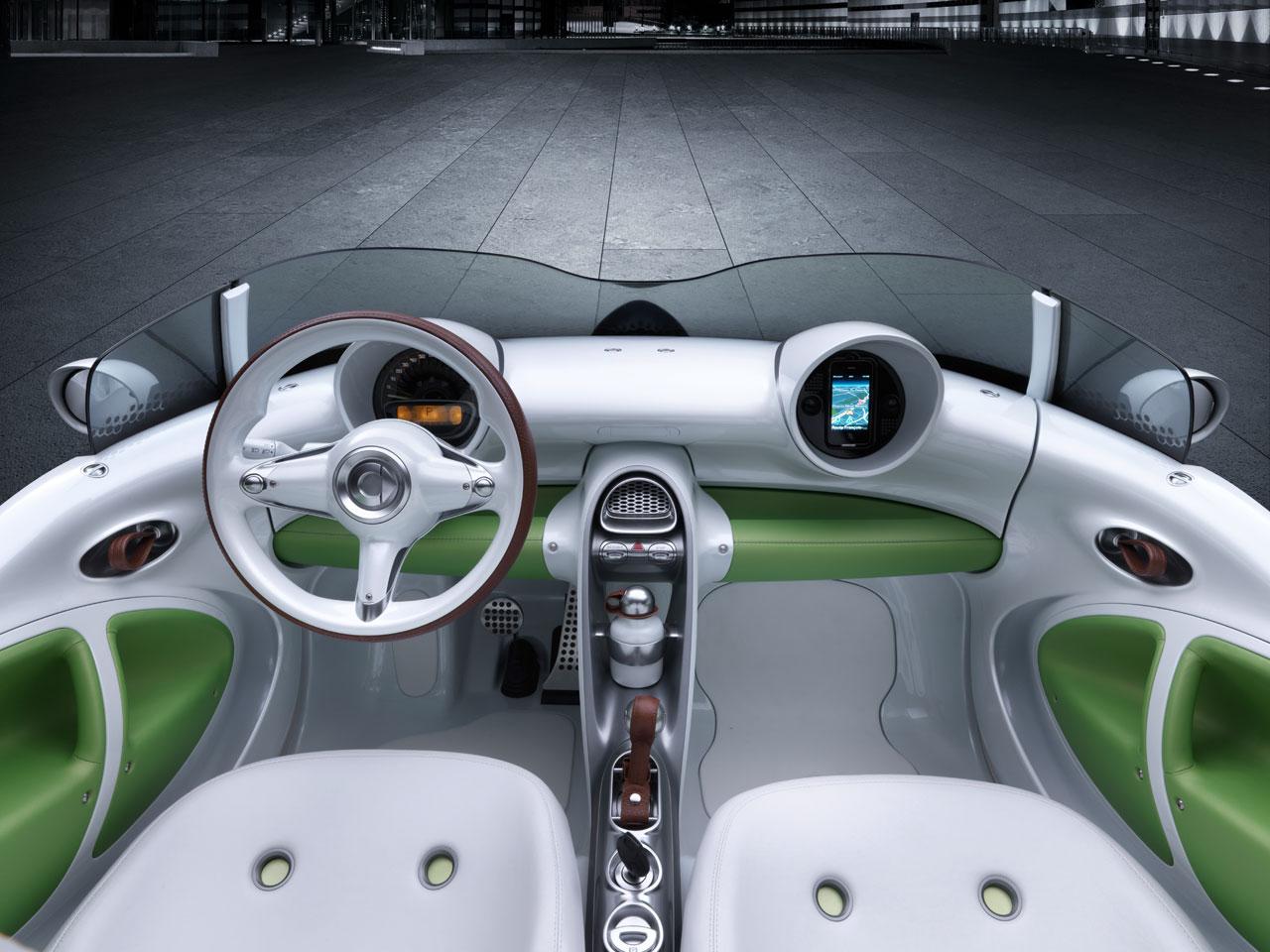 smart forspeed concept interior car body design. Black Bedroom Furniture Sets. Home Design Ideas