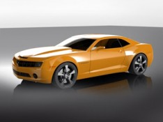 SolidWorks-Camaro-3D-model