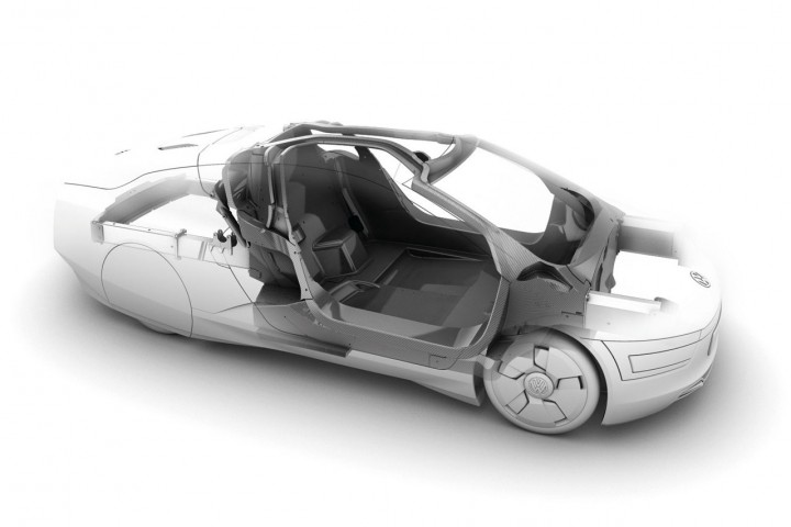 Volkswagen XL1 Concept  Car Body Design