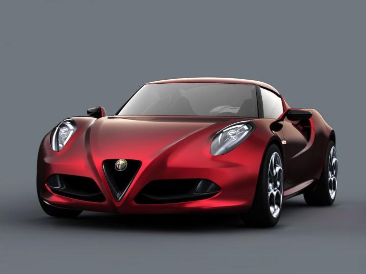 alfa romeo 4c concept car body design. Black Bedroom Furniture Sets. Home Design Ideas