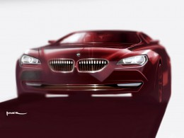 BMW 6 Series Coupe Design Sketch