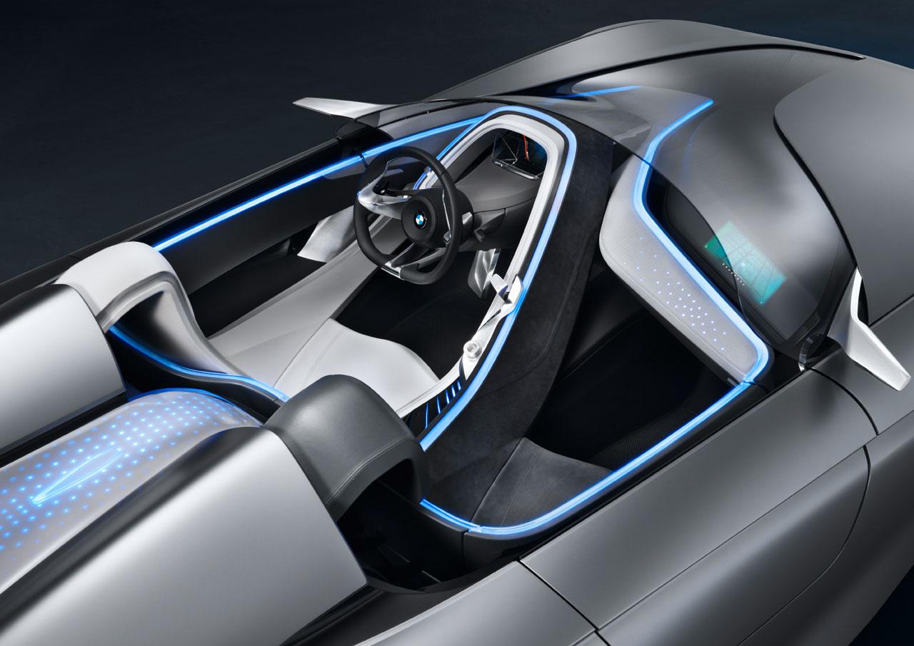 BMW Vision ConnectedDrive Concept Interior - Car Body Design